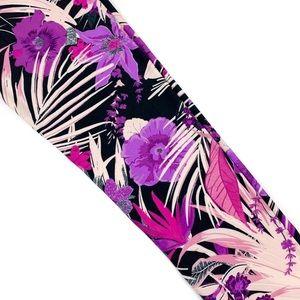 LuLaRoe | TC2 Bold Purple Floral Leggings